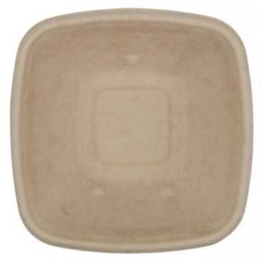 B01 CS130X130 Caserole BIO natur, patrate, capac separat, 130 x 130 x 50 mm