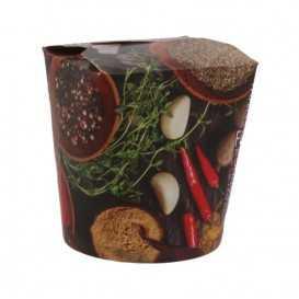 #CTR-CRTSTF-1400 Cutii din carton pentru noodles, street food, 500cc