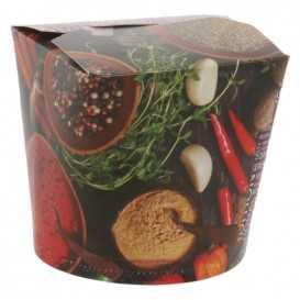 #CTR-CRTSTF-1400 Cutii din carton pentru noodles, street food, 750cc