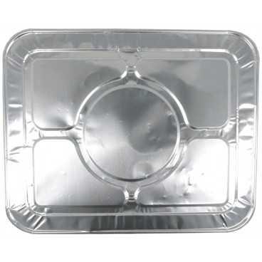3100AL325X265C Capace din aluminiu gastronorm 1/2, 325 x 265 x 18 mm, argintiu