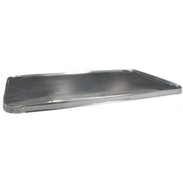 3100AL530X325C Capace din aluminiu gastronorm 1/1, 530 x 325 x 18 mm, argintiu