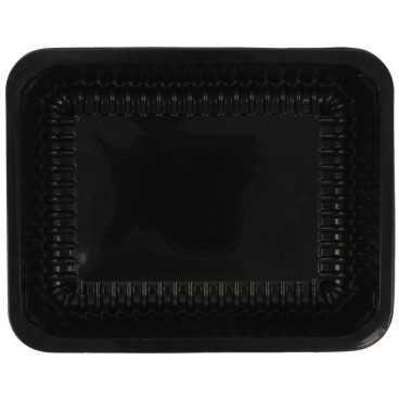 1400TS Caserole din polipropilena termosudabile, negre, 227 x 178 x 60 mm