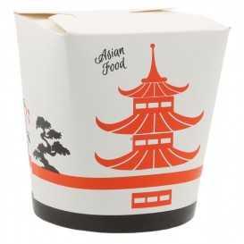 #CTR-VGNR-1400 Cutii din carton pentru noodles, Asia, 500cc