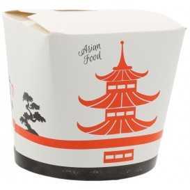 #CTR-VGNR-1400 Cutii din carton pentru noodles, Asia, 750cc