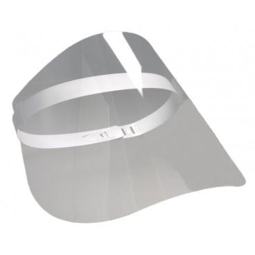 #TIGN-560- Viziera protectie din PET, transparenta, reglabila