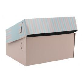 3700 Cutii din carton + aluminiu, patiserie / cofetarie, 170 x 125 x 80 mm