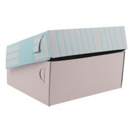3700 Cutii din carton + aluminiu, patiserie / cofetarie, 190 x 145 x 80 mm
