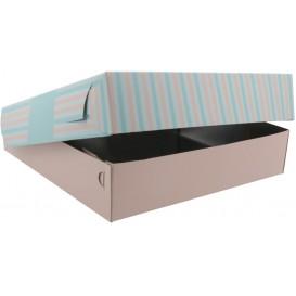 3700 Cutii din carton + aluminiu, patiserie / cofetarie, 280 x 280 x 10 mm