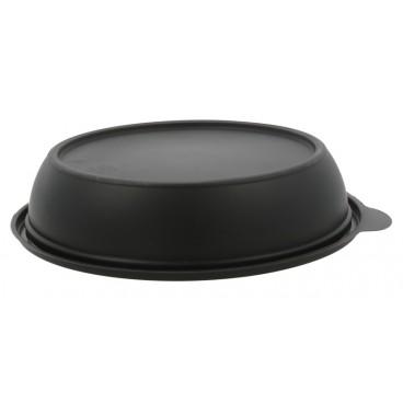 1320 Boluri negre din PP, capac separat, Ø 190 mm, 750 cc