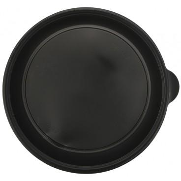 1420 Caserole din PP, negre, Ø 230 mm, 1000 cc